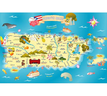 Ingenio Puerto Rico Map Learning Puzzle Smart Play Lets Start - Puerto rico on us map